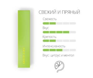 Green стик